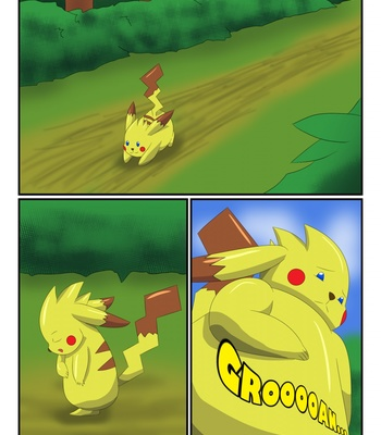 Porn Comics - Pikachu Muscle Evolution