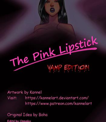 Porn Comics - The Pink Lipstick – Vamp Edition