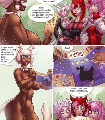 Porn Comics - The Saucer Overflows
