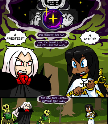 Bright Darkness – The Priestess And The Witch comic porn sex 002