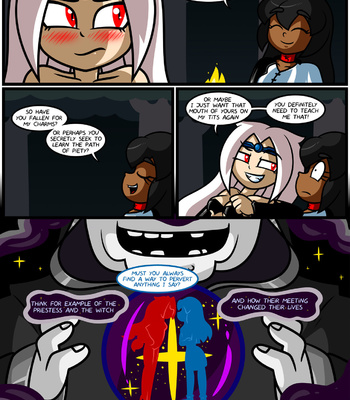 Bright Darkness – The Priestess And The Witch comic porn sex 036