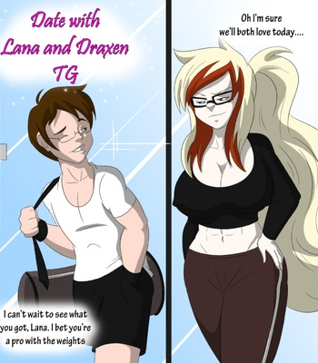 Porn Comics - Date With Lana And Daxen TG