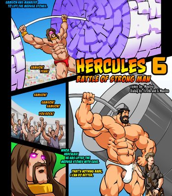 Porn Comics - Hercules – Battle Of Strong Man 6