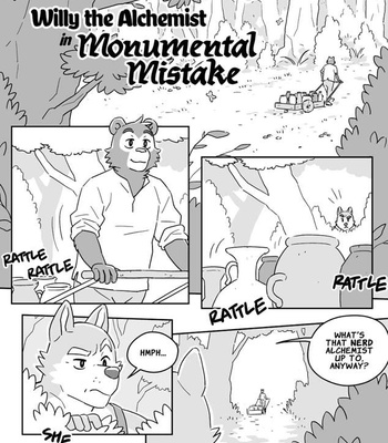 Porn Comics - Willy The Alchemist In Monumental Mistake