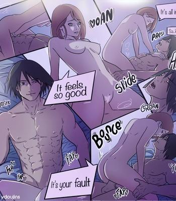 Sasuke X Sakura comic porn sex 004