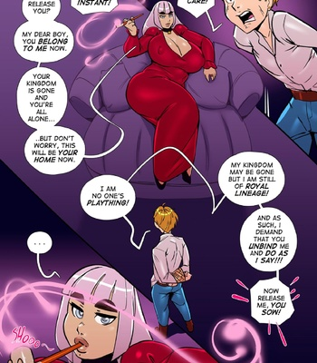 Tower Of The Masochistic Mage comic porn sex 005