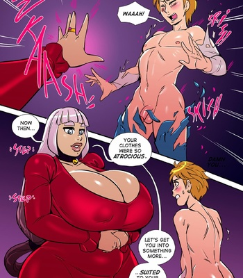 Tower Of The Masochistic Mage comic porn sex 006