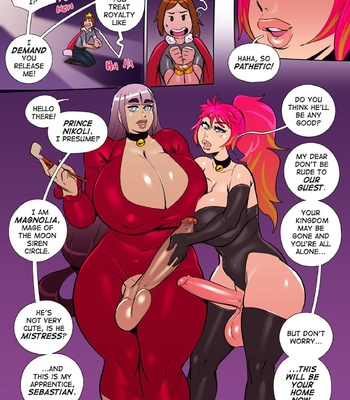 Tower Of The Masochistic Mage comic porn sex 027
