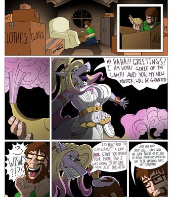 Porn Comics - Djinn Shark
