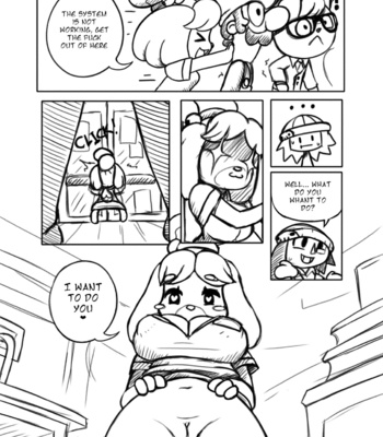 Las Chambeadogas comic porn sex 006