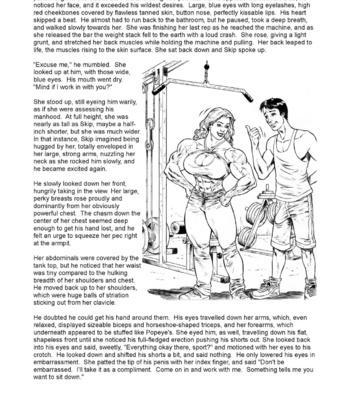Skip & Michelle  Chapter 1 & 2 comic porn sex 005
