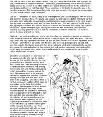 Skip & Michelle  Chapter 1 & 2 comic porn sex 010