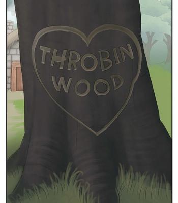 Porn Comics - Throbin Wood