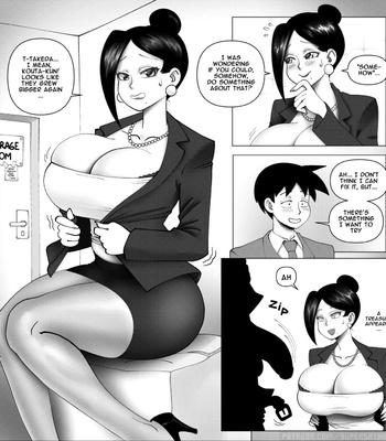 Business Suit Waifu Takizawa-San comic porn sex 003