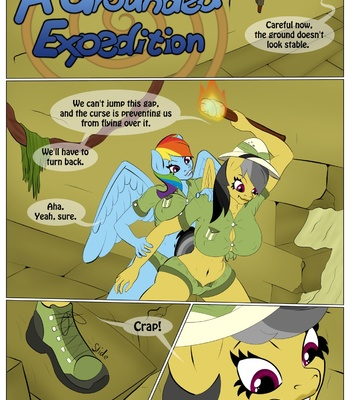 Porn Comics - A Grounded Expedition