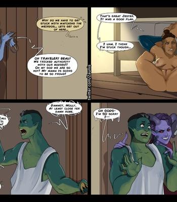 The Traveler 1 – Jester Gets Around comic porn sex 022
