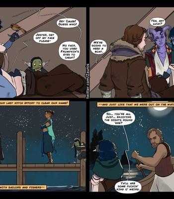 The Traveler 1 – Jester Gets Around comic porn sex 033