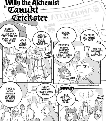 Porn Comics - Willy The Alchemist In Tanuki Trickster