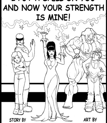 Porn Comics - I Put A Spell On You And Now Your Strenght Is Mine