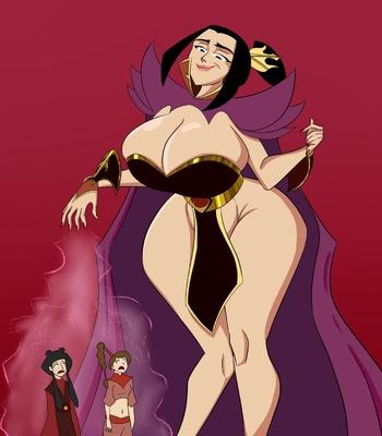 Porn Comics - Azula's Sizebending
