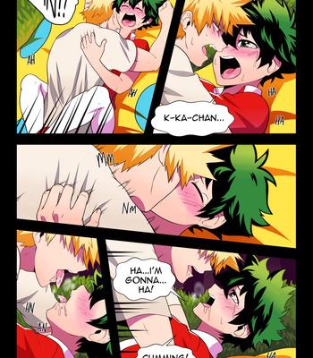 BakuDeku comic porn sex 011