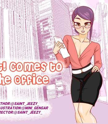 Porn Comics - Slut! Comes To The Office