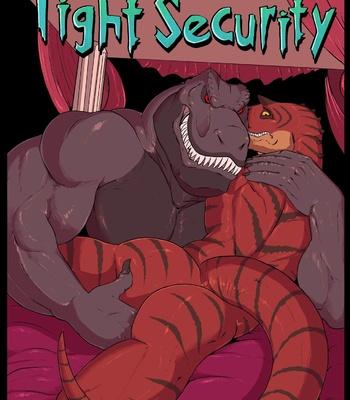 Porn Comics - Tight Security