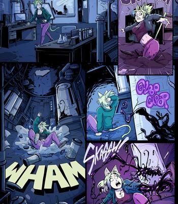 Porn Comics - Symbiote Catgirl