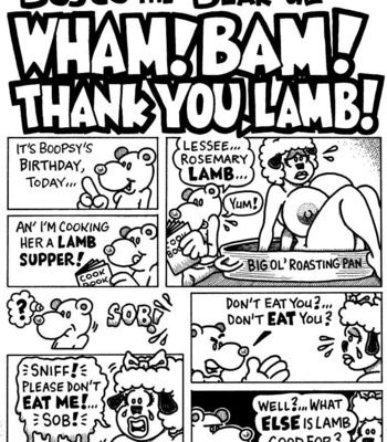 Porn Comics - Bosco The Bear – Wham! Bam! Thank You, Lamb!