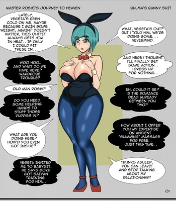 Porn Comics - Master Roshi's Journey To Heaven