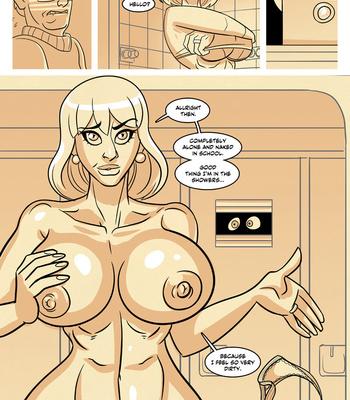 Ella 1 – Teacher's Secret Shower comic porn sex 008