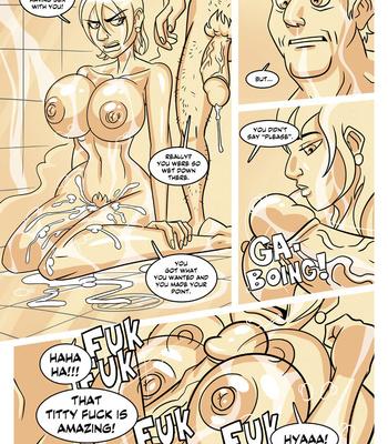 Ella 1 – Teacher's Secret Shower comic porn sex 014