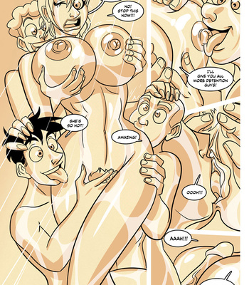 Ella 1 – Teacher's Secret Shower comic porn sex 018
