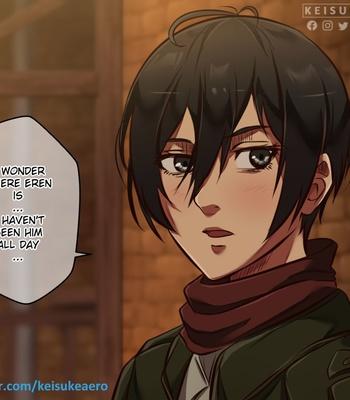 Porn Comics - Mikasa x Eren x Annie