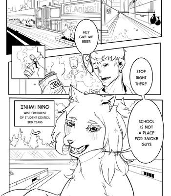 Porn Comics - Your Senpai Is A Dog