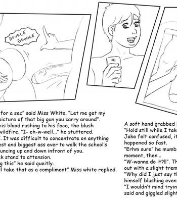 Teacher's Shower comic porn sex 002