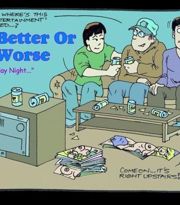 Porn Comics - One Saturday Night