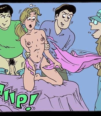One Saturday Night comic porn sex 004