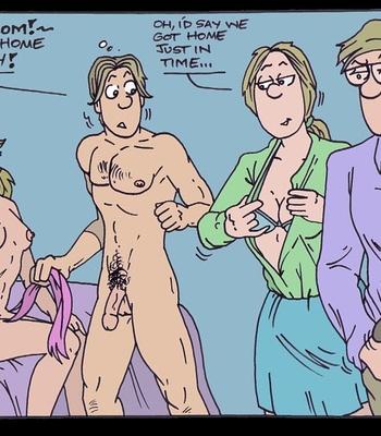 One Saturday Night comic porn sex 020