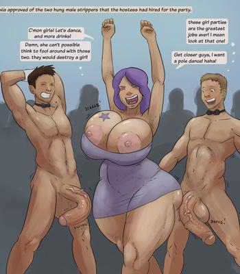 Porn Comics - Alexia, The Party